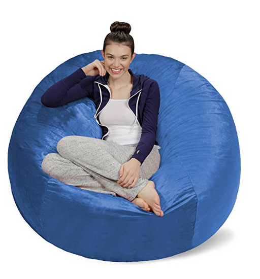 Bean Bag Chairs For Adults By Sofa Sack   Assorted Colors/Sizes