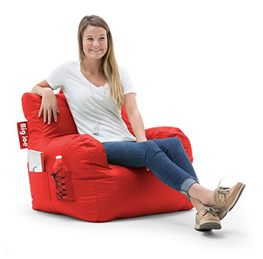 Dorm Room Bean Bag Chair for Adults by Big Joe - Assorted Colors/Sizes
