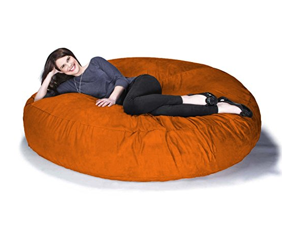 Oversized Bean Bag Chair for Adults by Jaxx - 6ft Cocoon - Assorted Colors