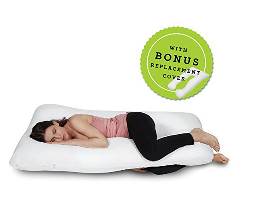 Full Body U-Shaped Pregnancy Pillow by ComfySure