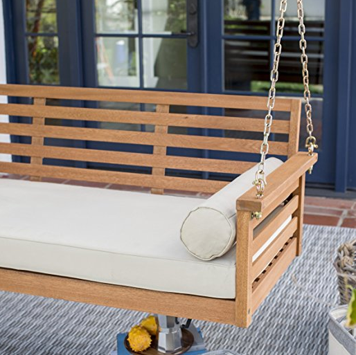 Wooden Swing Bed by Belham Living