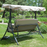 Metal Outdoor Swing Bed by Coral Coast - 3 Person - All Weather