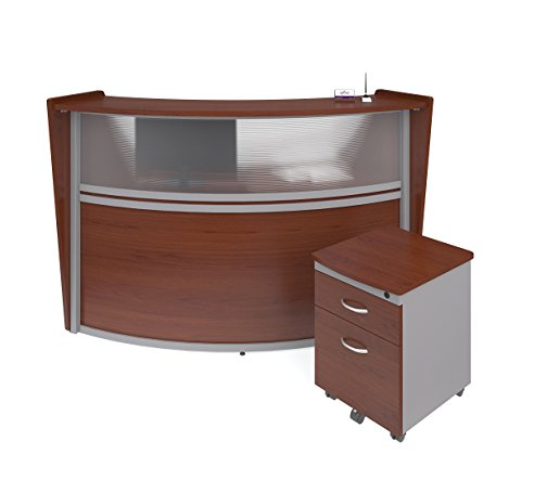 Contemporary Curved Reception Desk by OFM