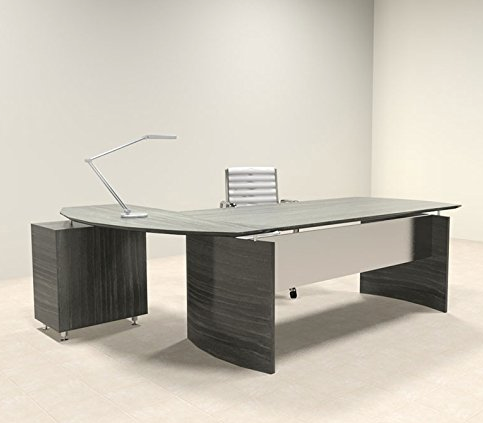 Charmant 2 Piece Ultra Modern L Shaped Office Desk By UTM ...