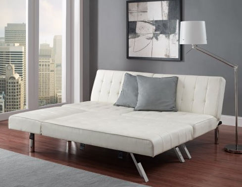 Superieur White Leather Modern Sofa Bed By Emily
