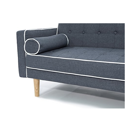 Mid-century Modern Sofa Bed by Divano Roma Furniture
