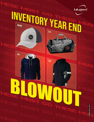 Inventory Blowout Flyer