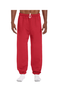 GILDAN ADULT NO POCKET SWEATPANTS WITH ELASTIC CUFFS