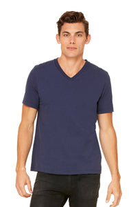 BELLA + CANVAS® ADULT JERSEY V-NECK T-SHIRT