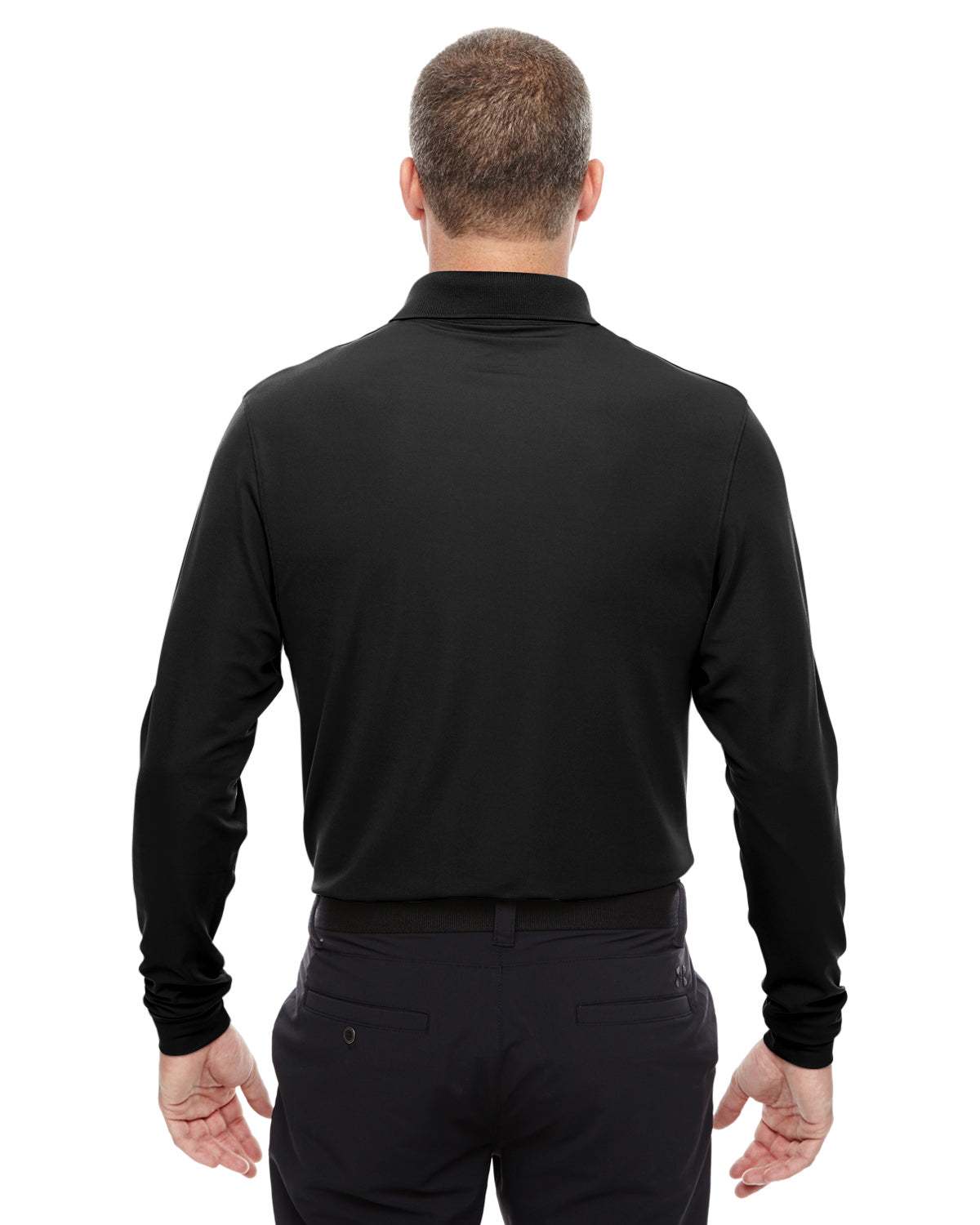 391f0054 UNDER ARMOUR MEN'S PERFORMANCE LONG SLEEVE POLO - ID Apparel