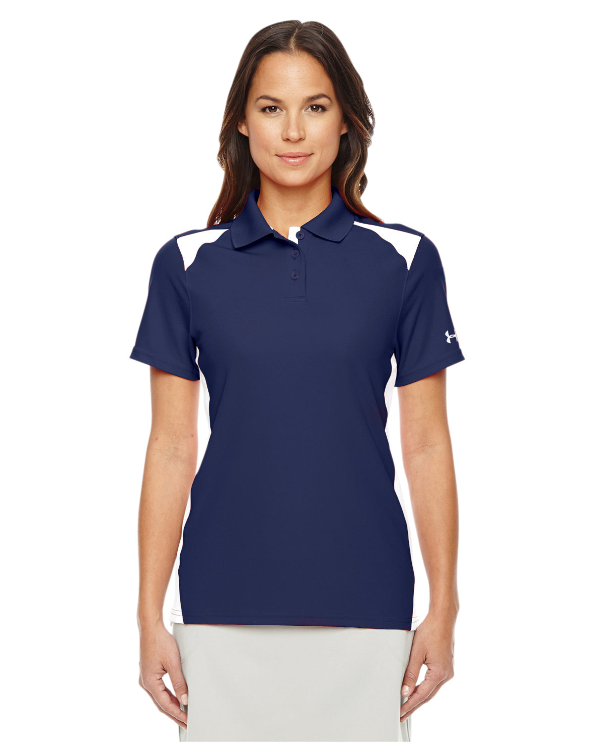 UNDER ARMOUR LADIES' TEAM COLORBLOCK POLO