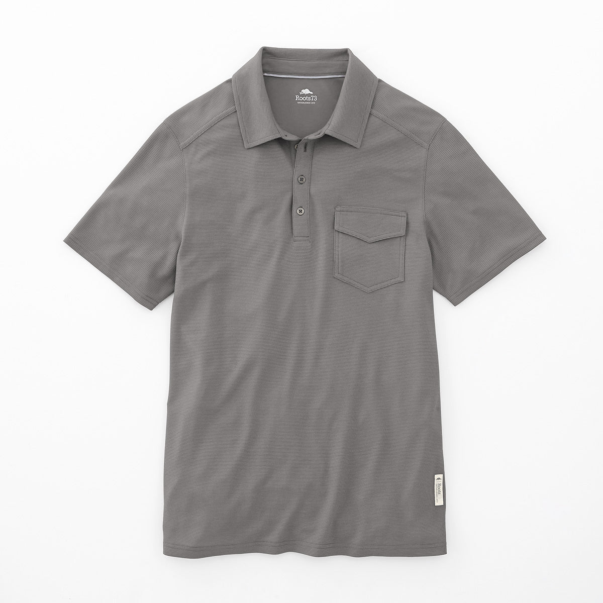 ROOTS73 MEN'S LUNENBURG SHORT SLEEVE POLO