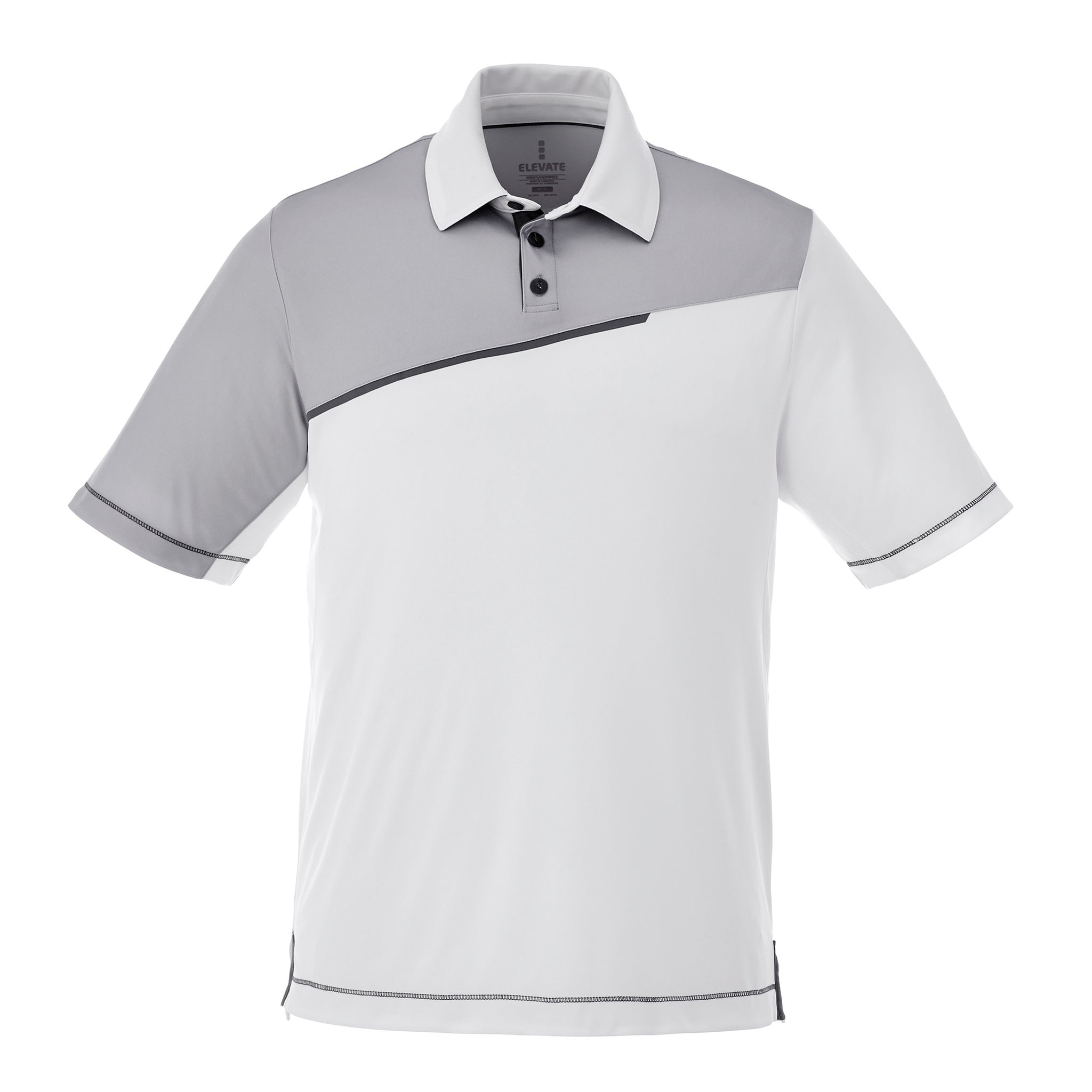 ELEVATE MEN'S PRATER SHORT SLEEVE POLO