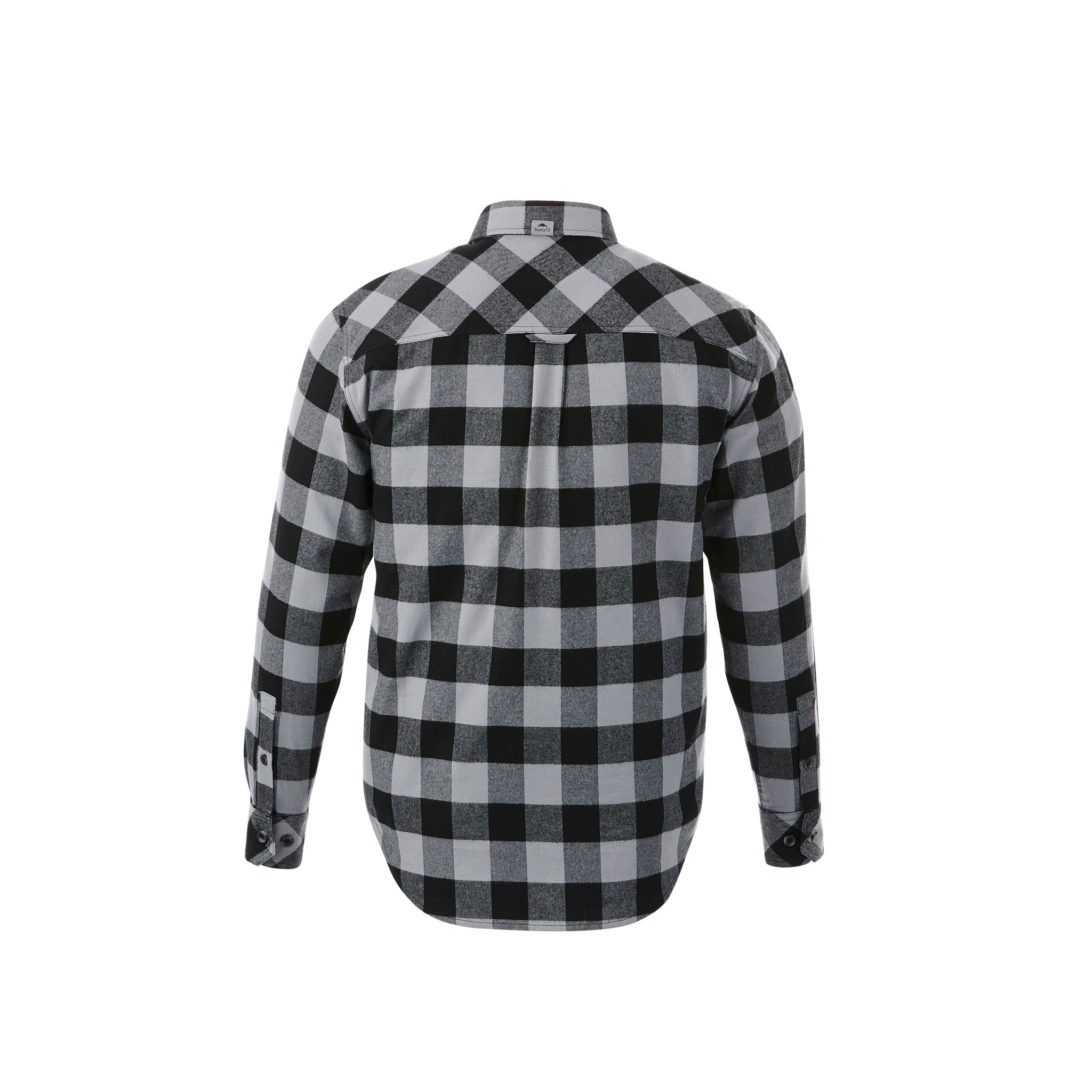ROOTS73 MEN'S SPRUCELAKE PLAID LONG SLEEVE SHIRT