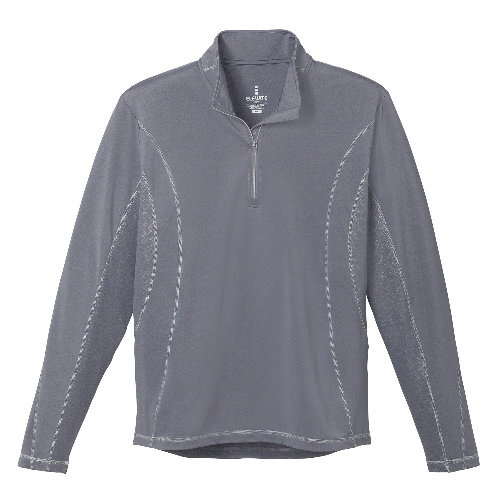 ELEVATE MEN'S CALTECH KNIT QUARTER ZIP