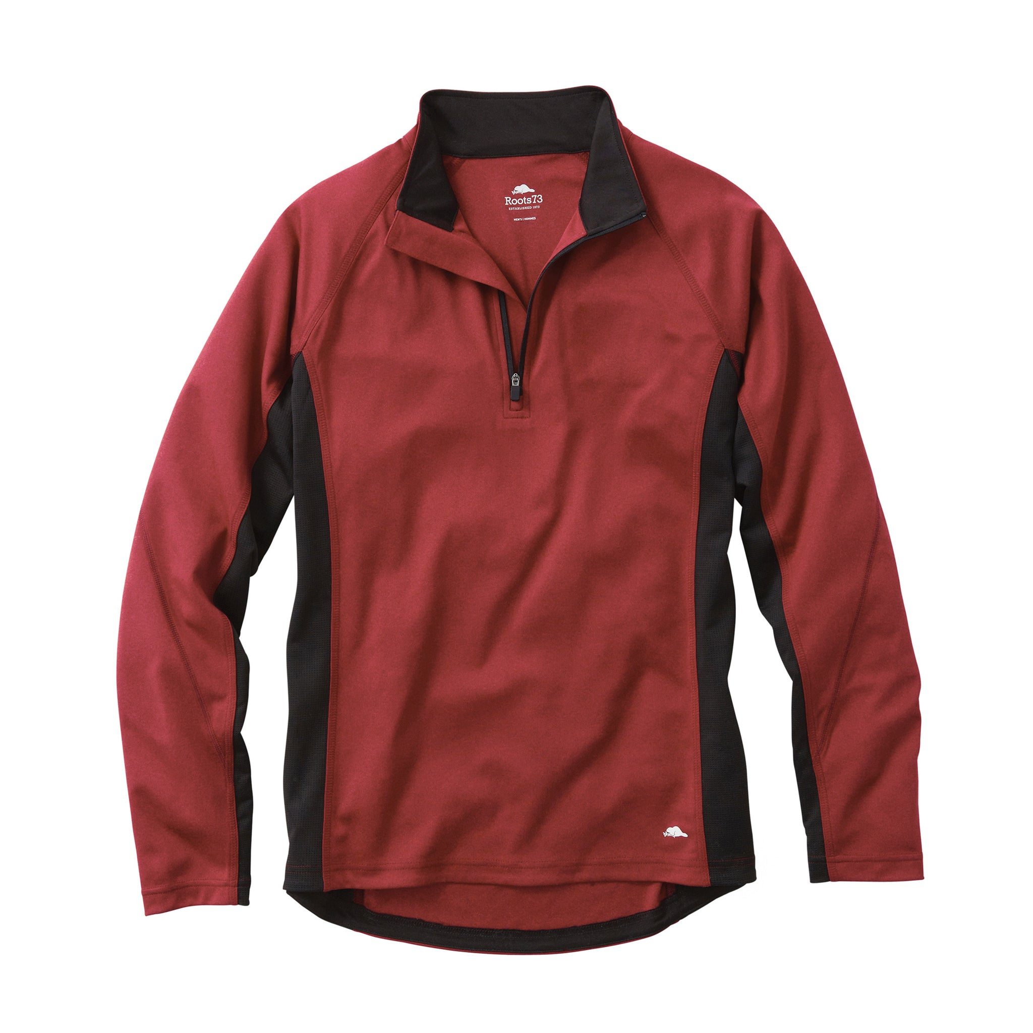 ROOTS73 MEN'S BIRCHLAKE QUARTER ZIP