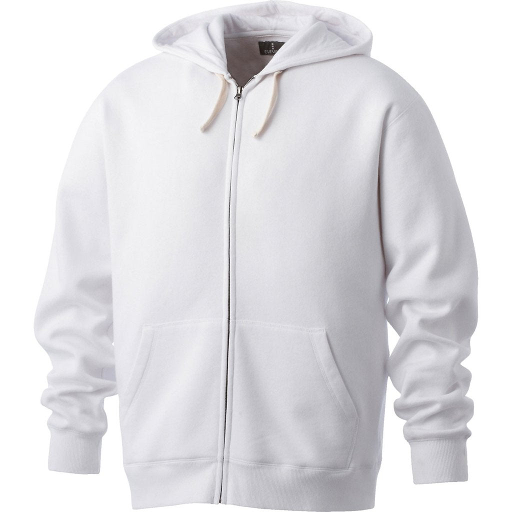 ELEVATE MEN'S HURON FULL ZIP FLEECE HOODY