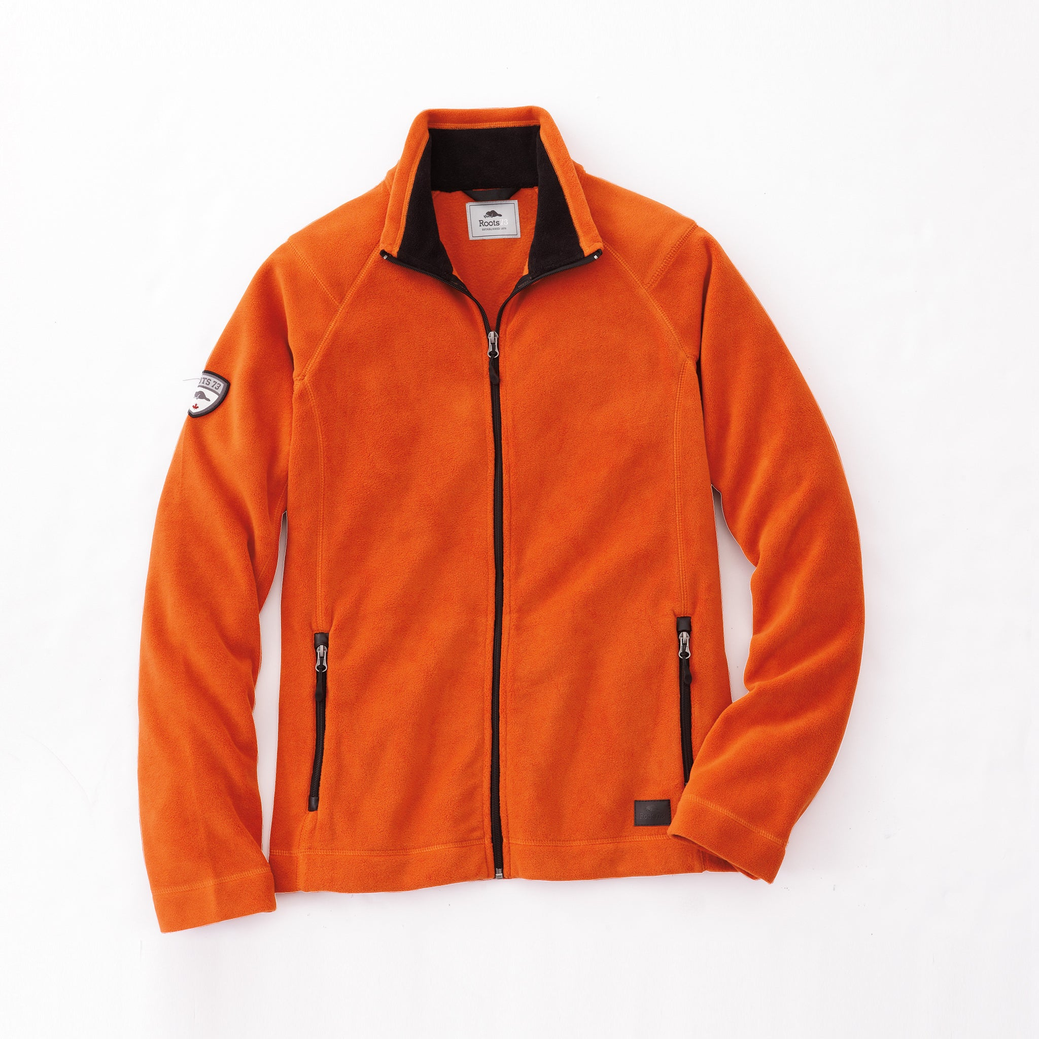ROOTS73 MEN'S DEERLAKE MICRO FLEECE JACKET