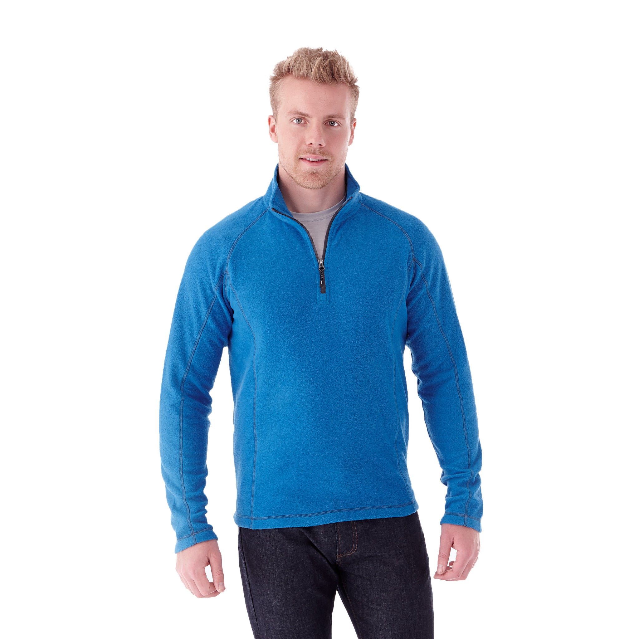 ELEVATE MEN'S BOWLEN POLY FLEECE QUARTER ZIP