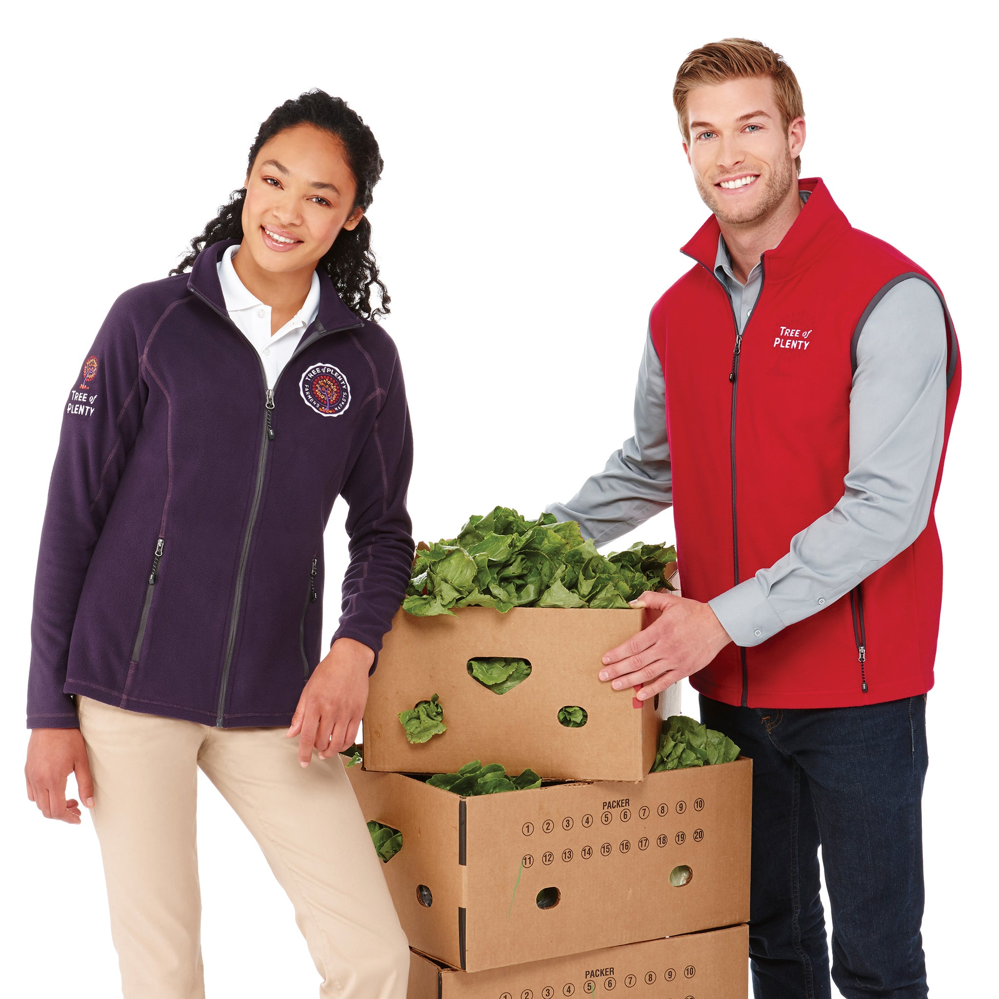 ELEVATE MEN'S TYNDALL POLY FLEECE VEST