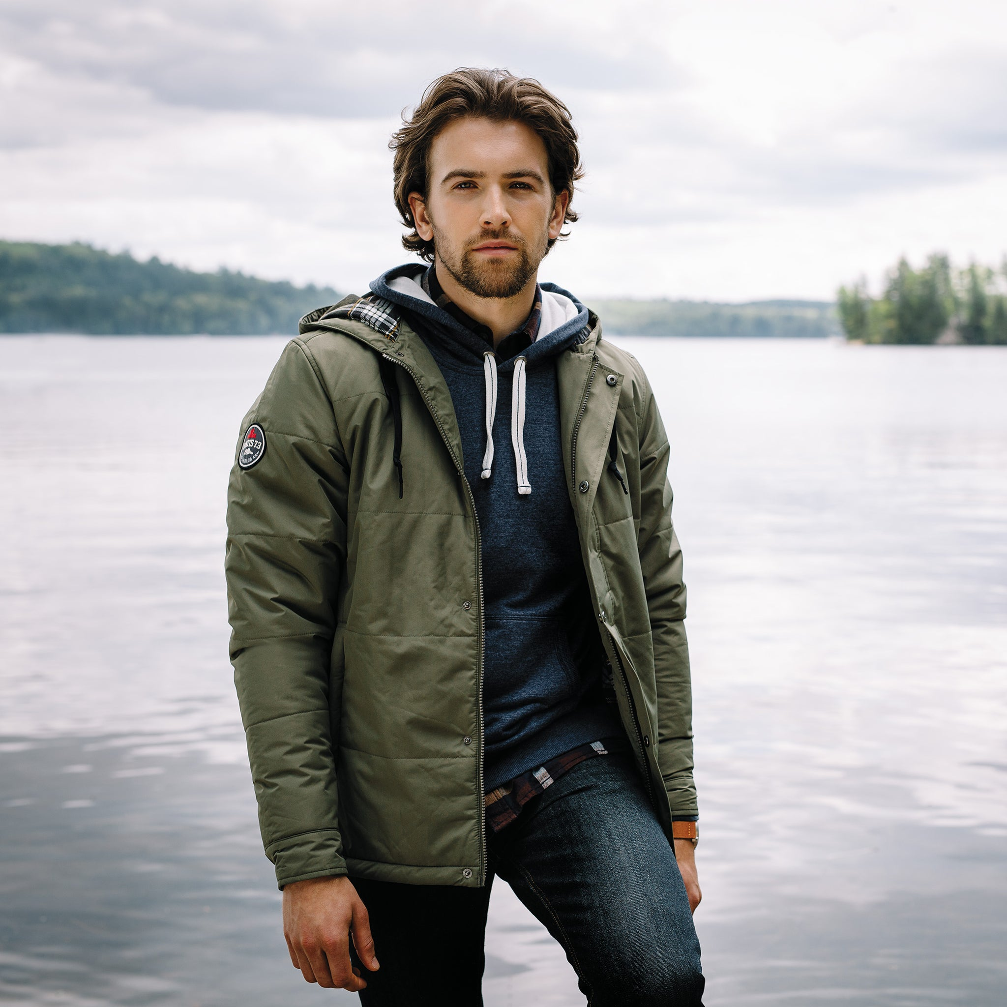 ROOTS73 MEN'S GRAVENHURST INSULATED JACKET