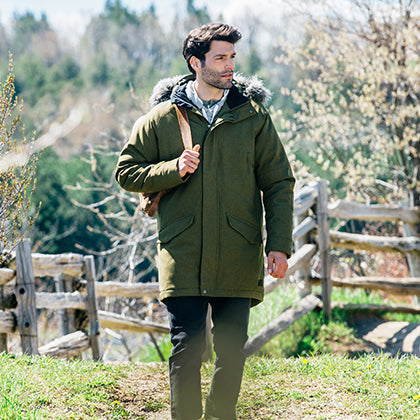 ROOTS73 MEN'S BRIDGEWATER INSULATED JACKET