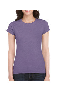 GILDAN LADIES FITTED COTTON JERSEY T-SHIRT