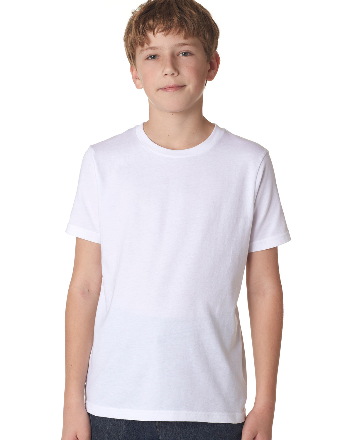 NEXT LEVEL YOUTH BOYS' COTTON CREW