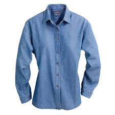 LADIES SANFORD LS DENIM SHIRT