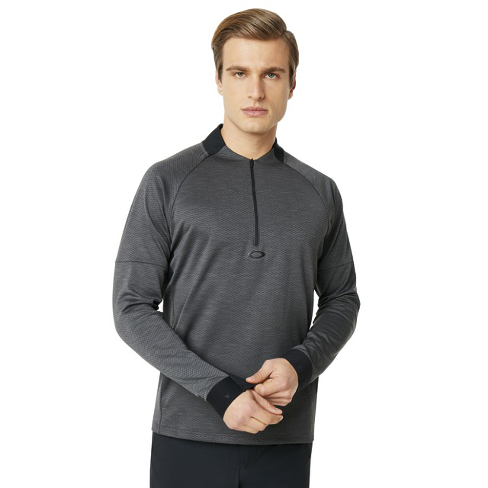 OAKLEY MEN'S KNOCKDOWN MIXED FLEECE 1/4 ZIP