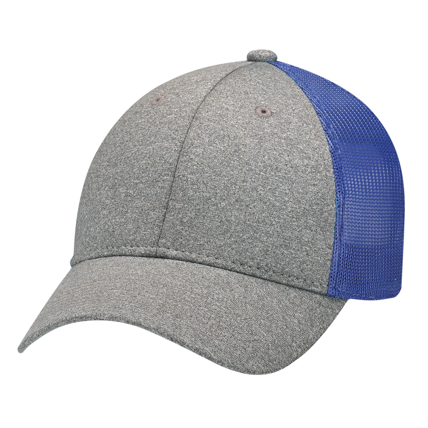 AJM POLY HEATHER NYLON MESH CAP