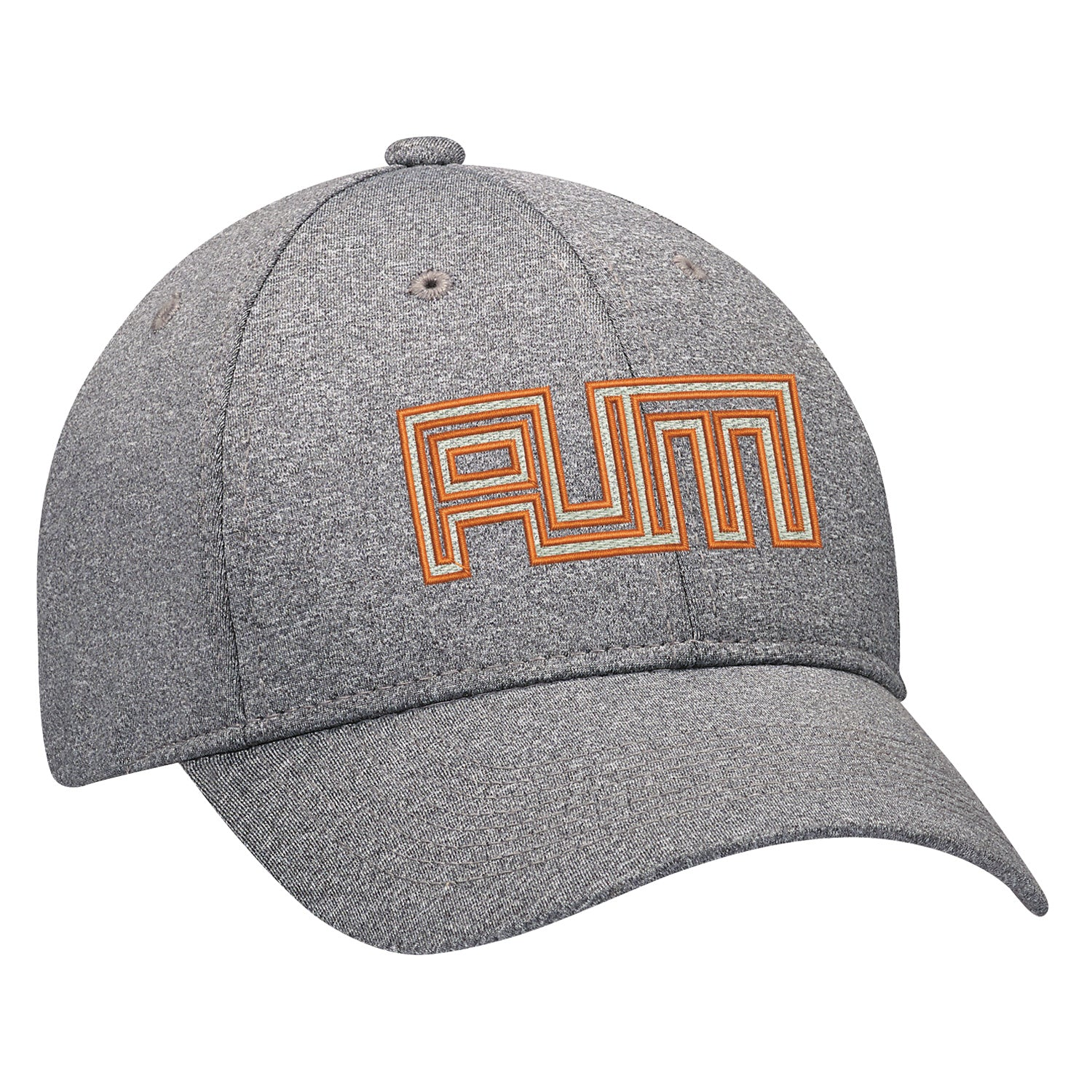 AJM POLYESTER HEATHER ADJUSTABLE HAT