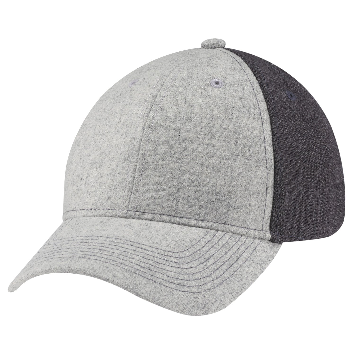 AJM WOOL SERGE HEATHER HAT