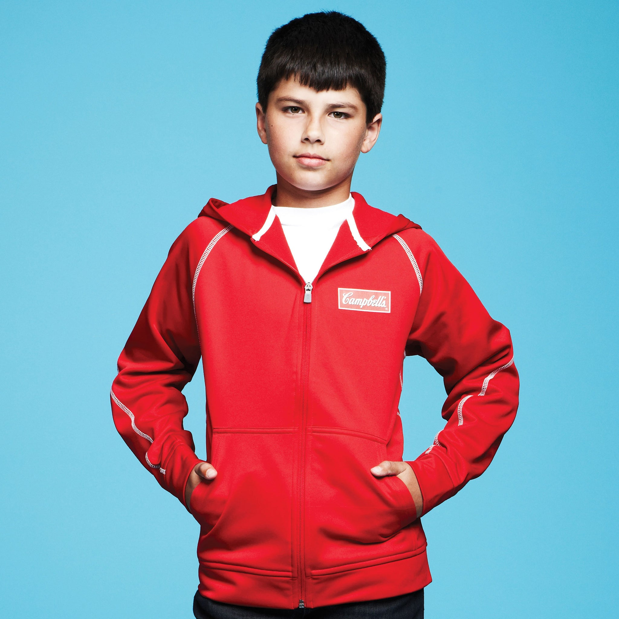 STOCK YOUTH TONLE FULL ZIP HOODY