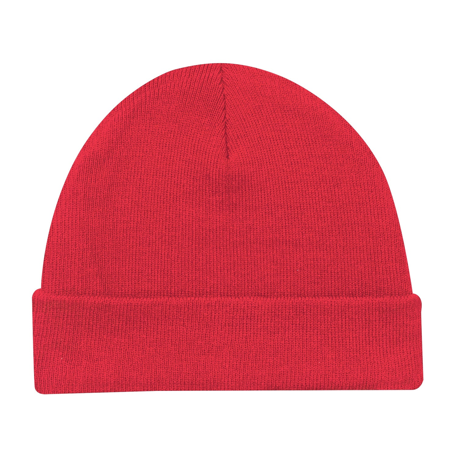 AJM LIGHT WEIGHT ACRYLIC RIB KNIT CUFF TOQUE