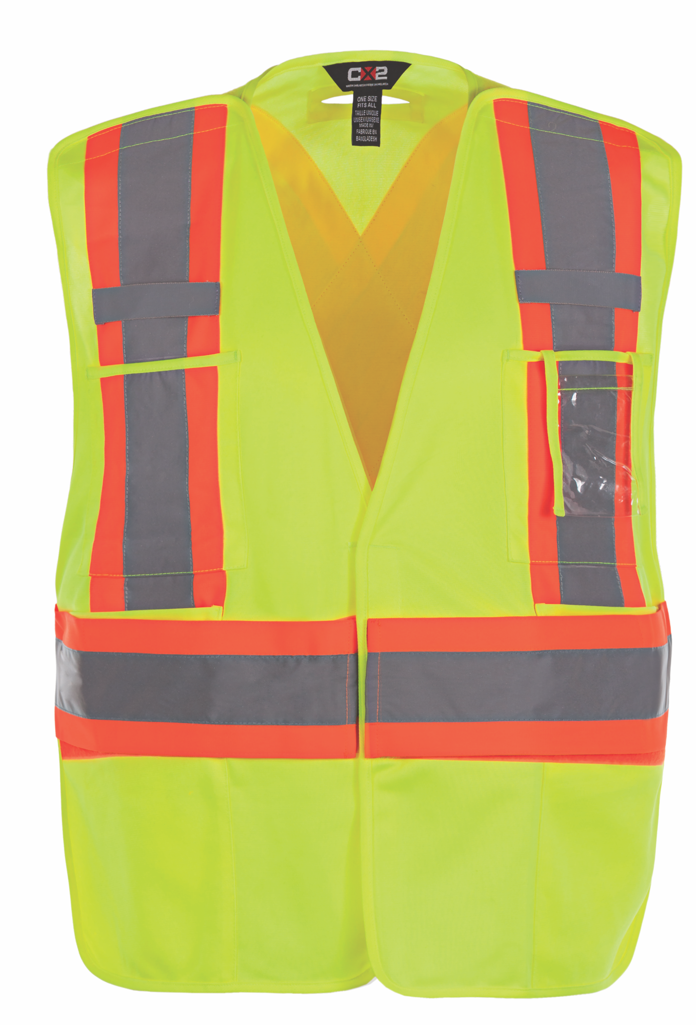 CANADA SPORTSWEAR ONE SIZE PROTECTOR HI-VIS SAFETY VEST