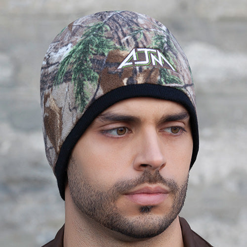 PRINTED POLYESTER MICRO FLEECE/ACRYLIC TOQUE