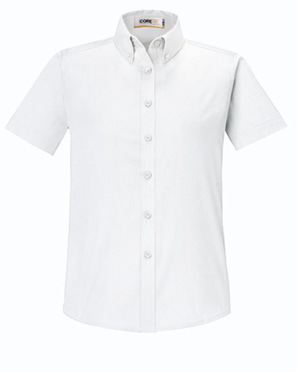 CORE 365 LADIES OPTIMUM SHORT SLEEVE TWILL DRESS SHIRT
