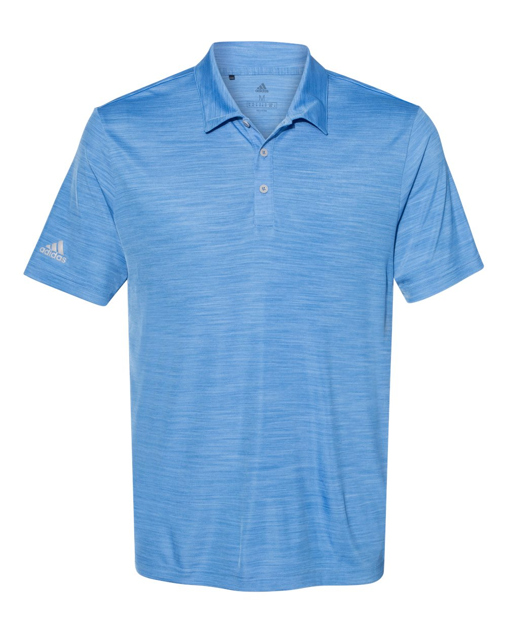 ADIDAS MEN'S MELANGE POLO
