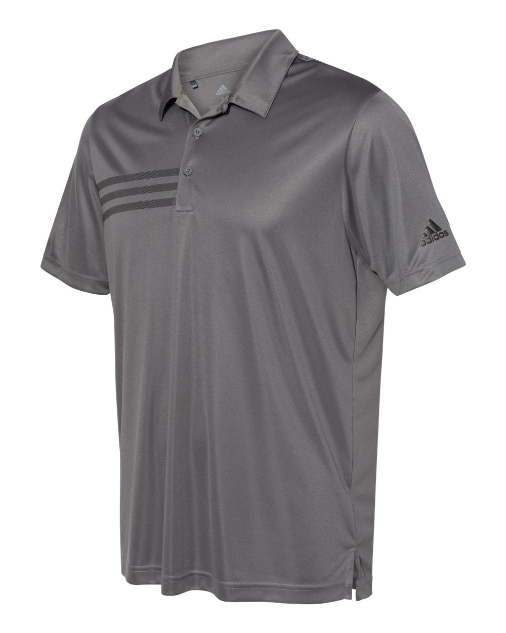 ADIDAS MEN'S 3 STRIPES CHEST POLO