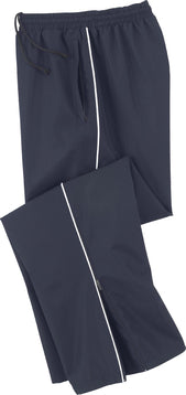 MEN'S WOVEN TWILL ATHLETIC PANTS