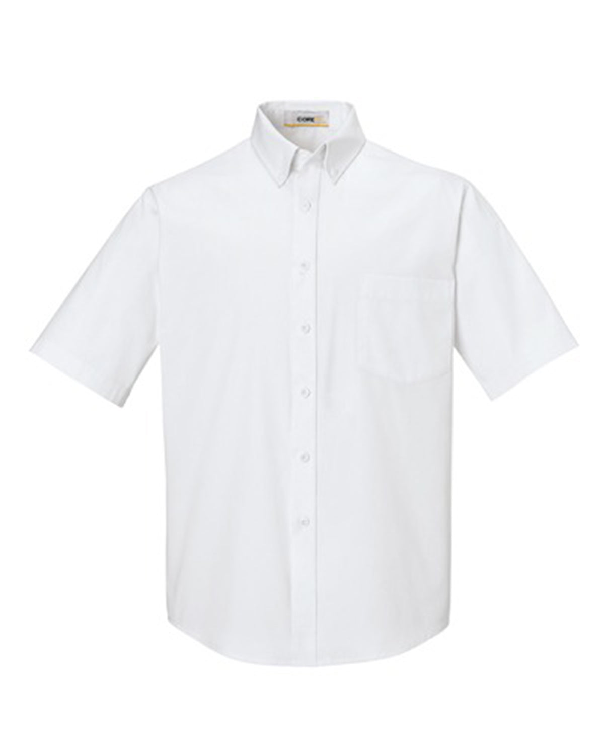 CORE 365 MEN'S OPTIMUM SHORT SLEEVE TWILL DRESS SHIRT