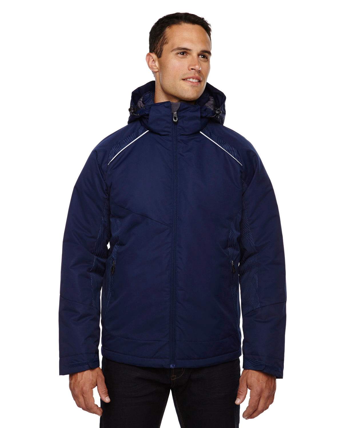 NORTH END MEN'S LINEAR INSULATED JACKET