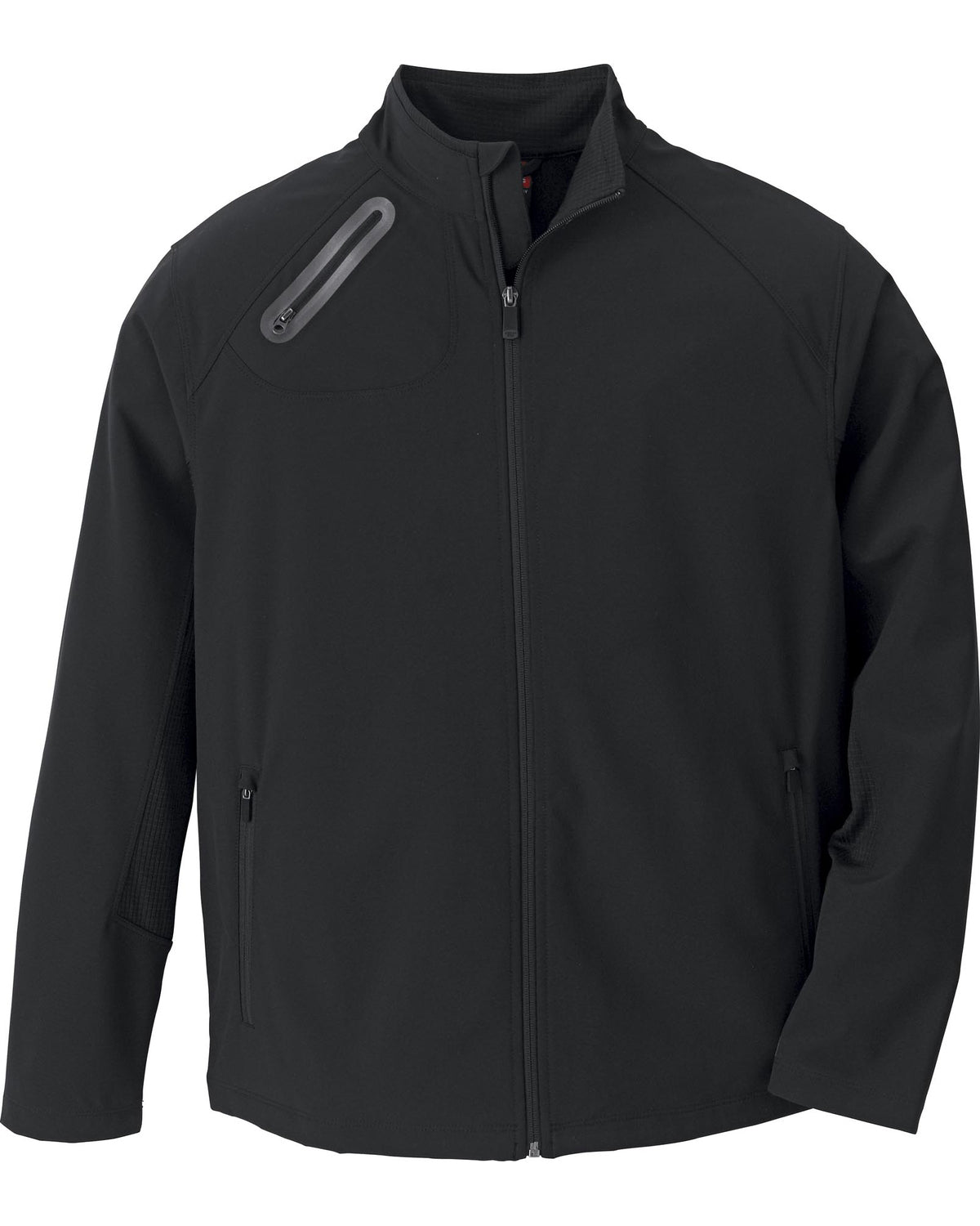 STOCK NORTH END MEN'S 3 LAYER LIGHT BONDED SOFT SHELL JACKET