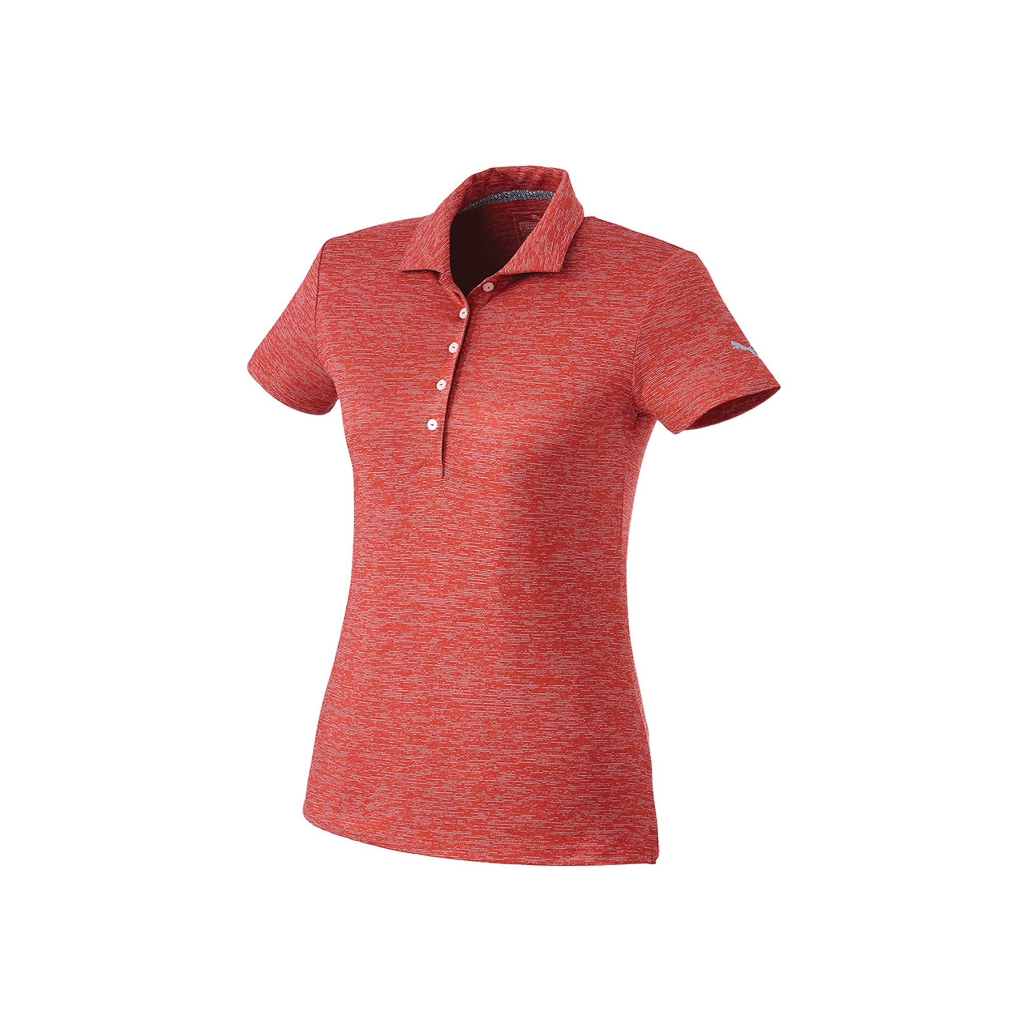PUMA LADIES HEATHER POLO