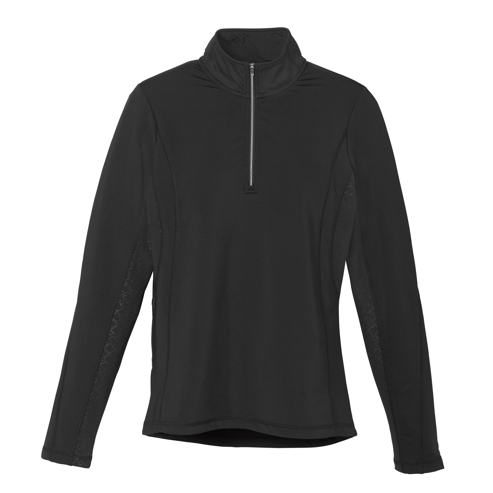 ELEVATE LADIES CALTECH KNIT QUARTER ZIP