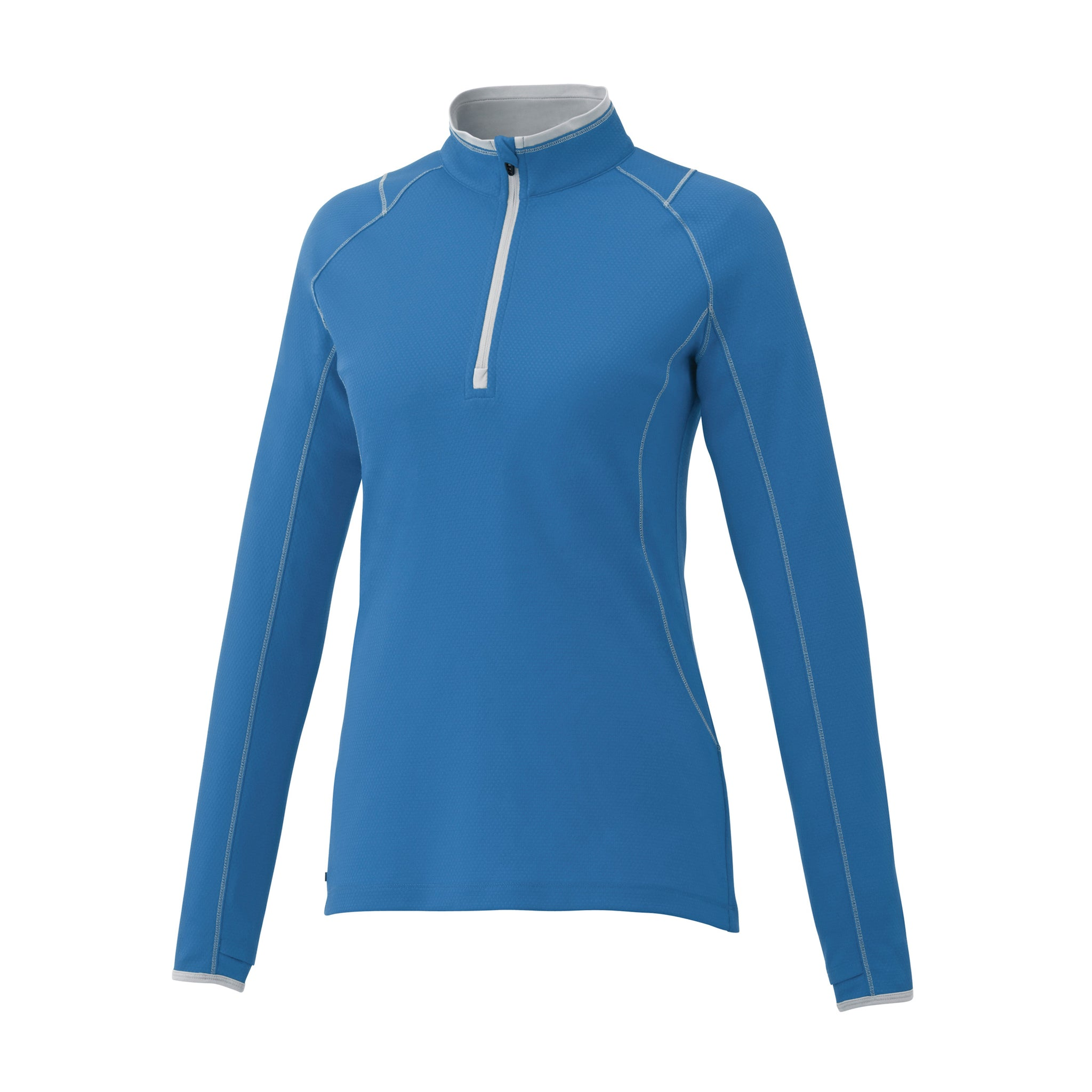 ELEVATE LADIES KNEW KNIT HALF ZIP
