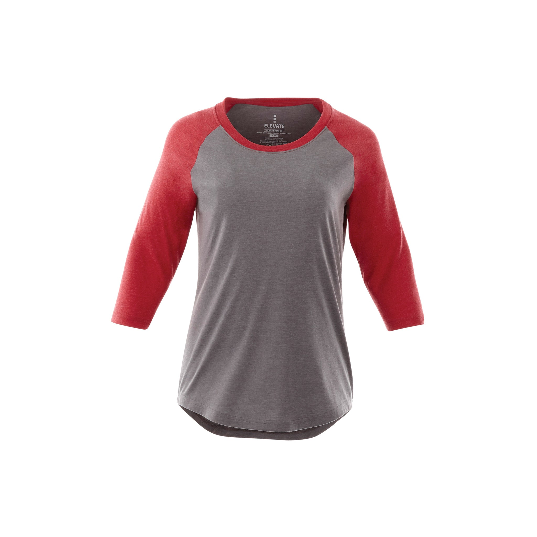 TRIMARK LADIES DAKOTA THREE QUARTER T-SHIRT