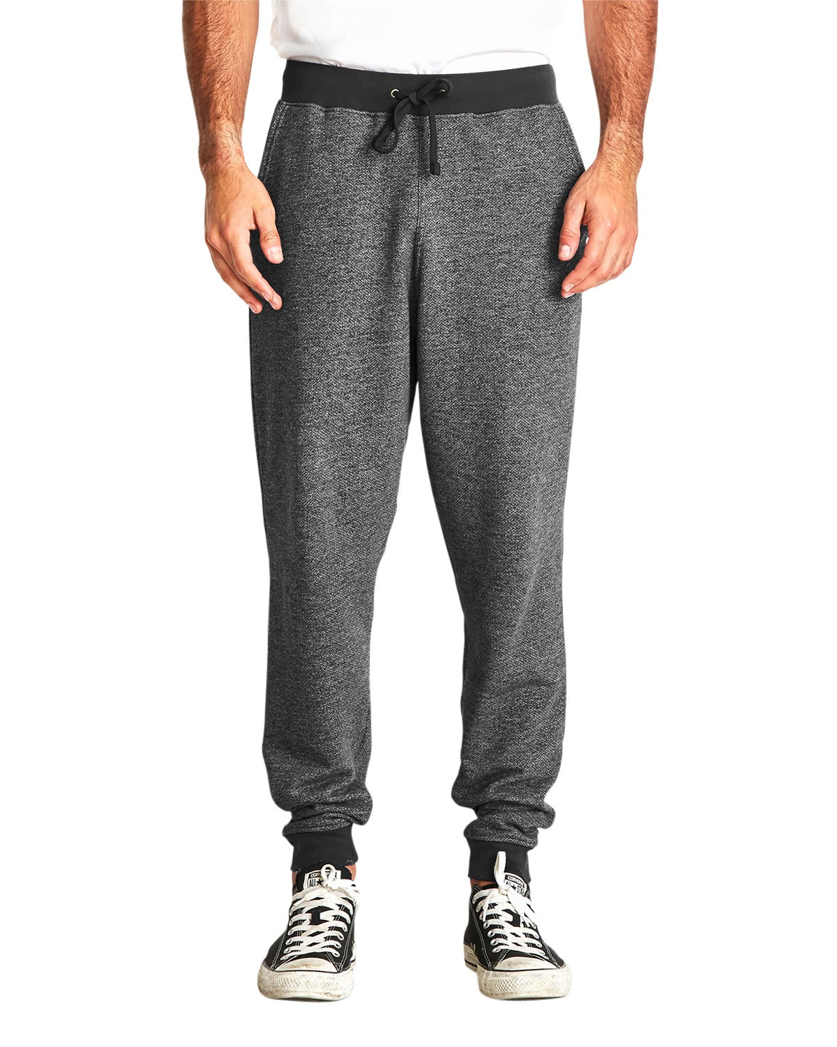 NEXT LEVEL MEN'S DENIM FLEECE JOGGER