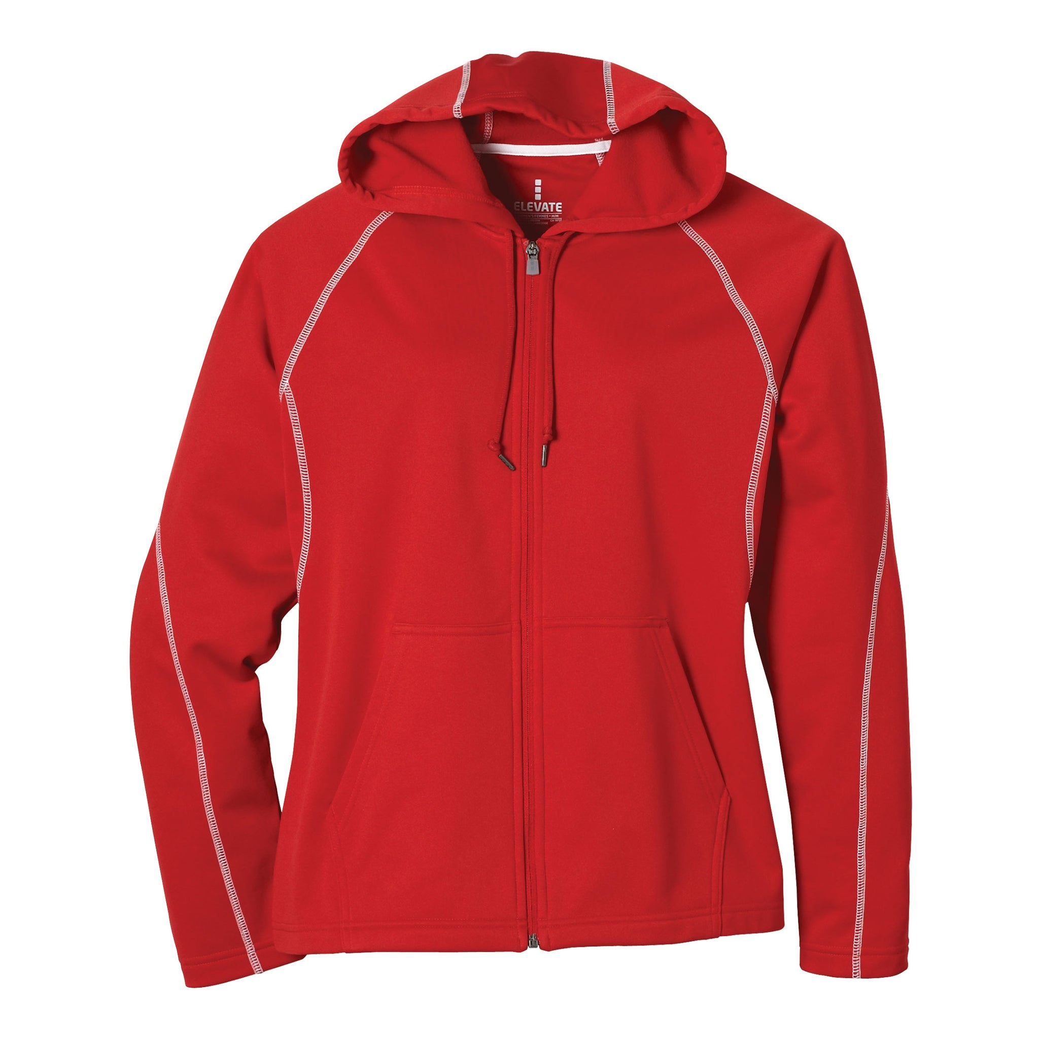 STOCK LADIES TONLE FULL ZIP HOODY